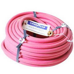 Hose 3/8in Red Rubber